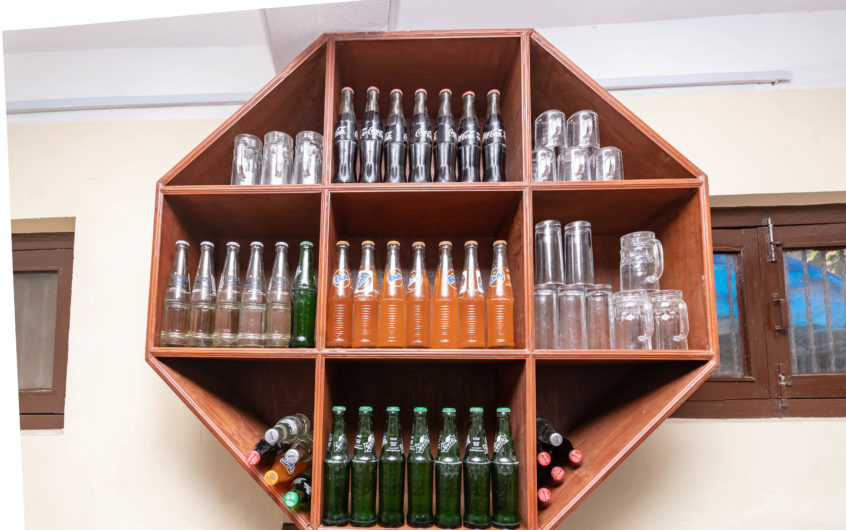 Mini Bar in the Facility for soft and Alcoholic Beverages